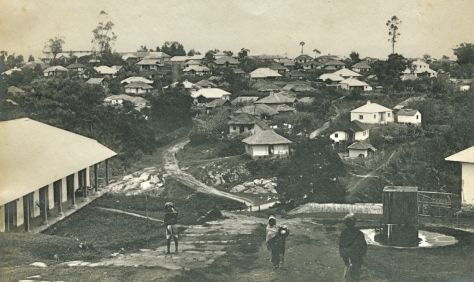 Shillong Town before the earthquake